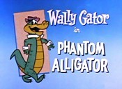Phantom Alligator Cartoon Picture