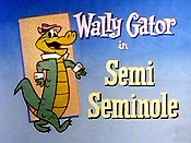 Semi Seminole Picture Into Cartoon