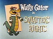 Squatter's Rights Cartoon Character Picture
