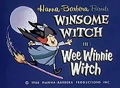 Wee Winnie Witch Picture To Cartoon
