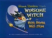 Have Broom Will Zoom Free Cartoon Picture