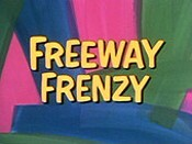 Freeway Frenzy Picture Into Cartoon