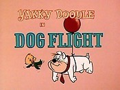 Dog Flight Cartoon Character Picture