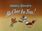 Ha-Choo To You! Cartoon Character Picture