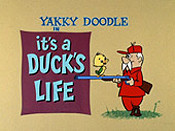 It's A Duck's Life Cartoon Picture