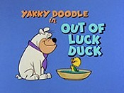 Out Of Luck Duck Cartoon Character Picture