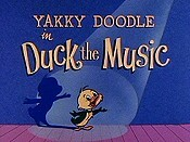 Duck The Music Cartoon Picture