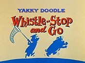 Whistle-Stop And Go Cartoon Picture