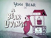 A Bear Living Cartoon Picture