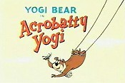 Acrobatty Yogi Cartoon Picture