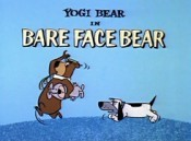 Bare Face Bear Cartoon Picture