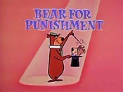 Bear For Punishment Cartoon Picture