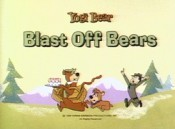 Blast Off Bears Free Cartoon Picture