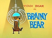 Brainy Bear Cartoon Picture