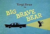 Big Brave Bear Cartoon Picture