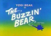 The Buzzin' Bear Cartoon Picture