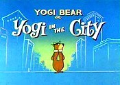 Yogi In The City Pictures Of Cartoon Characters