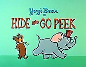 Hide And Go Peek Cartoon Picture