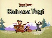 Kahuna Yogi Free Cartoon Picture