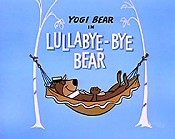 Lullabye-Bye Bear Cartoon Picture