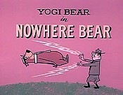Nowhere Bear Cartoon Picture
