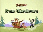 Bear Obedience Cartoon Picture