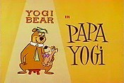 Papa Yogi Cartoon Picture