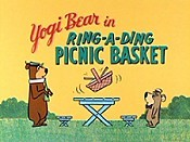 Ring-a-Ding Picnic Basket Cartoon Character Picture