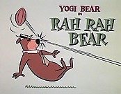 Rah Rah Bear Cartoon Picture