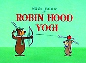 Robin Hood Yogi Cartoon Picture