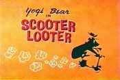 Scooter Looter Cartoon Picture