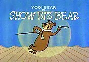 Show Biz Bear Cartoon Picture