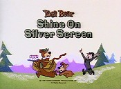 Shine On Silver Screen Picture Into Cartoon
