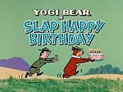 Slap Happy Birthday Cartoon Picture