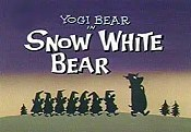 Snow White Bear Cartoon Picture