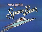 Space Bear Cartoon Picture