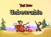 Unbearable Pictures In Cartoon