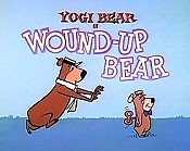 Wound-Up Bear Cartoon Picture