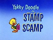 Stamp Scamp Cartoon Character Picture
