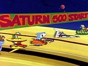The Saturn 500 Cartoon Character Picture
