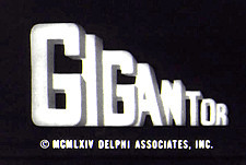 Gigantor Episode Guide Logo