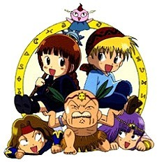 Doki Doki Densetsu Mah�jin Guru Guru Episode Guide Logo