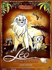 Janguru Taitei (Jungle Emperor Leo) Cartoon Character Picture