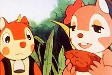 Bara No Shigemi No Usagi (Rabbit In A Rose Briar) Cartoon Picture