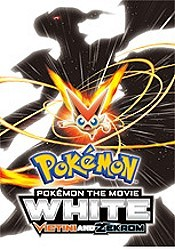 Pok�mon the Movie: White--Victini and Zekrom Cartoon Character Picture