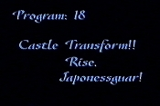 Castle Transform!! Rise, Japonessguar! Cartoon Picture