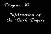 Infiltration Of The Dark Empire