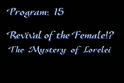 Revival Of The Female?! The Mystery Of Lorelei Lorelei Cartoon Character Picture