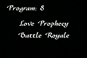 Love Prophecy Battle Royal Cartoon Character Picture