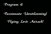 Passionate Unwelcoming! Flying Love Attack! Cartoon Picture